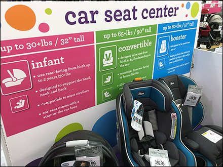 Babies R Us: Car Seat Color-Coding Details