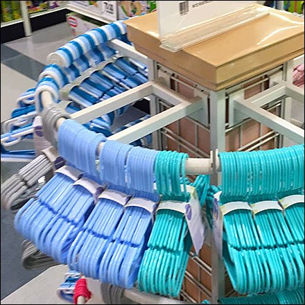 Clothes Hanger Store Fixtures