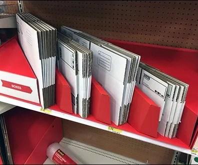 Corrugated Shipping Box Divider Display 3
