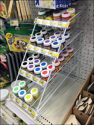 Crayola Shelf-Top Gravity Feed for Crafter's Paints