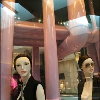 Dior Window Dressing Pipe Dreams in Pink PVC