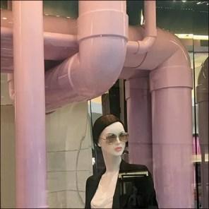 Dior Window Dressing Pipe Dreams in Pink PVC