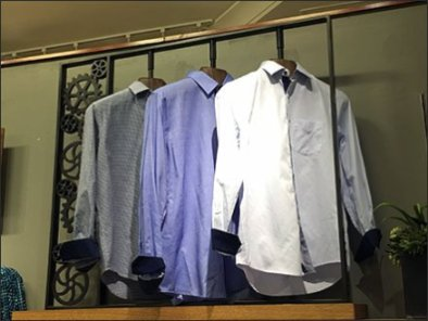 Dress Shirts Geared For Action Rack 3