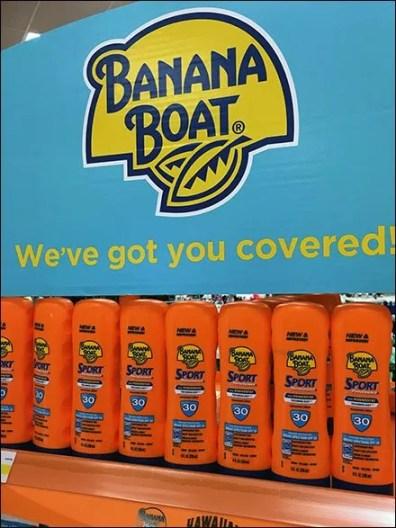 Hawaiian Tropic and Banana Boat Sell Into Summer