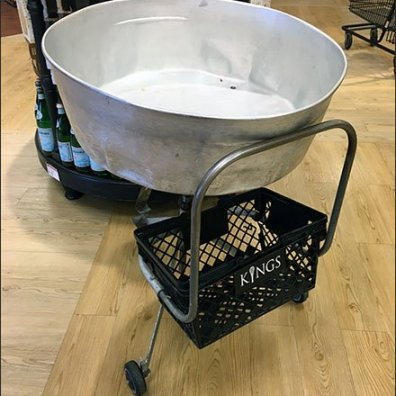 Mobile Wash-Tub Transport Cart Sells Out