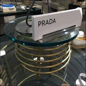 Prada Coil Table Display Aux