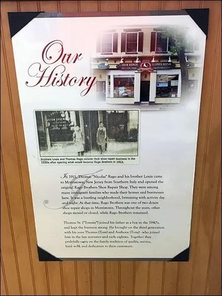 Rago Bros Company History Main