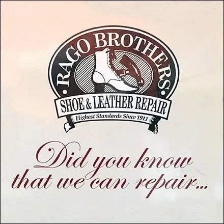 Rago Brothers Leatherworks - What We Repair
