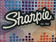 Sharpie Drop Shadowed Logo Branding 1