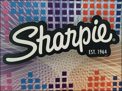 Sharpie Drop Shadowed Logo Branding 1