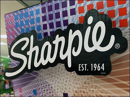Sharpie Drop Shadowed Logo Branding 2
