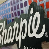 Sharpie Drop Shadowed Logo Branding 3