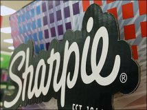 Sharpie Drop Shadowed Logo Branding 3