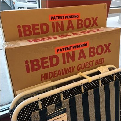 Sleepys iBed in a Box CloseUp