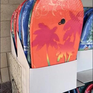 Summer Surfer Outdoor Boogy Board Display 1
