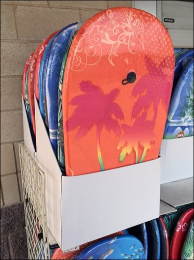 Summer Surfer Outdoor Boogy Board Display 1