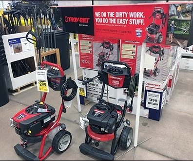 Troy-Bilt Power Washer Sign Stands 3