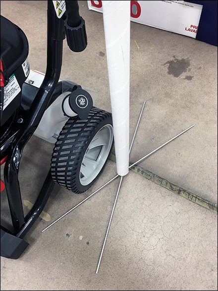 Troy-Bilt Power Washer Sign Stands Main