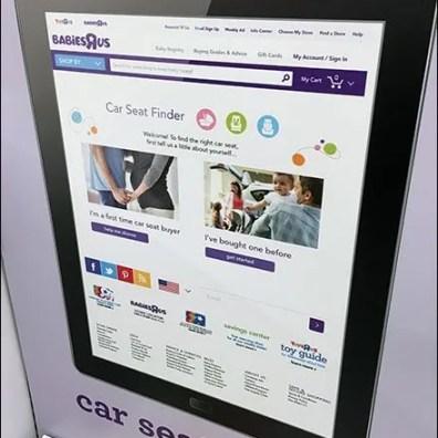 Babies R Us Car Seat Center 1