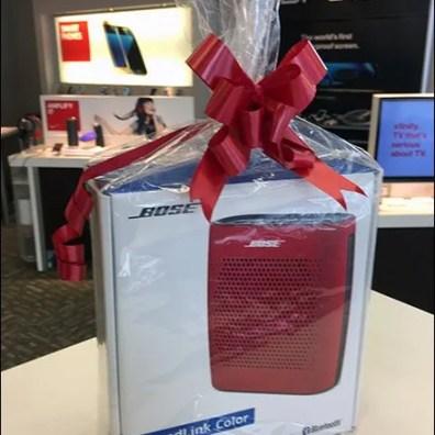 Bose Ribbon Matches Bose Speaker 2