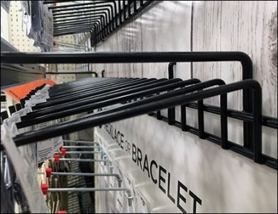 Charm Shop Gravity Feed Multi Hook 6