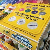 Crayola Color Coded Gravity Feed Display 3