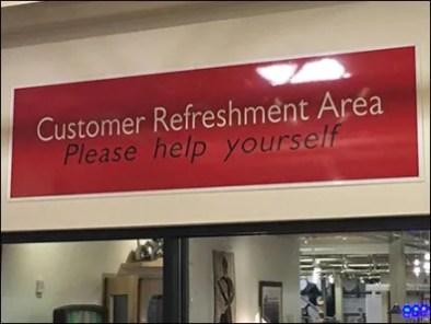 Dane Decor Customer Refreshment Area 3