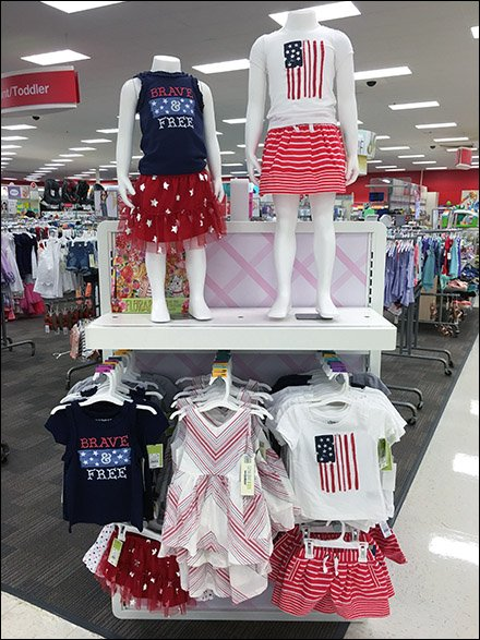 Patriotic Apparel for Girls 1