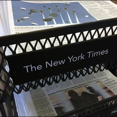 StarBucks Top-Dog Newspaper Display Rack 1
