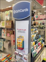 Target Gift Card Straight Entry Hook 1