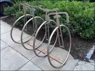 Unicycle Bicycle Rack 1