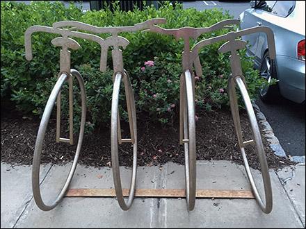 Unicycle Bicycle Rack Main