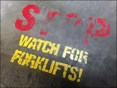 Watch For Forklifts On LSD Acid 1