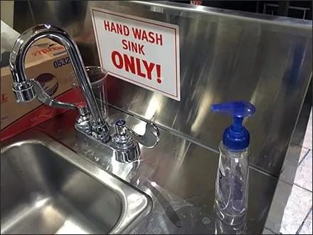 Wegmans Portable Hand Wash Sink Main
