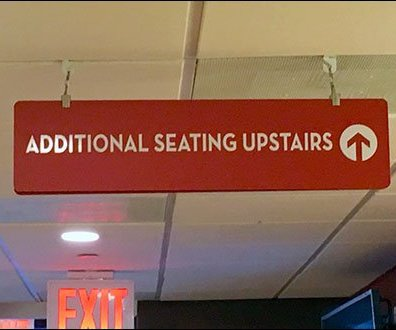 Wendys Offers Additional Seating Upstairs in Penthouse