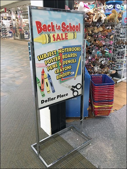 Back-To-School Easel Dollar Place Main
