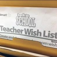 Back-To-School Teachers Wish List Main