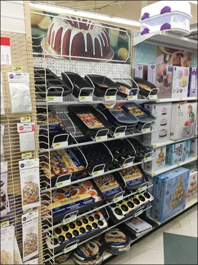 Baking Pan Specialty Display Declined