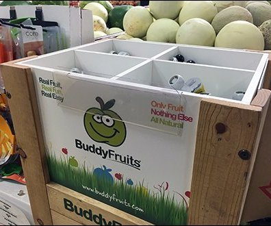 Buddy Fruits Bulk Bin Pouch Merchandising 1