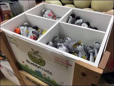 Buddy Fruits Bulk Bin Pouch Merchandising 2