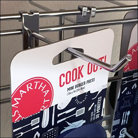 Cookout Utensil Table-Top Grid Display Square