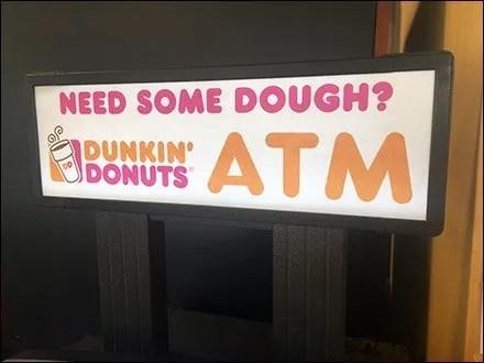 Dunkin' Donuts Retail Fixtures