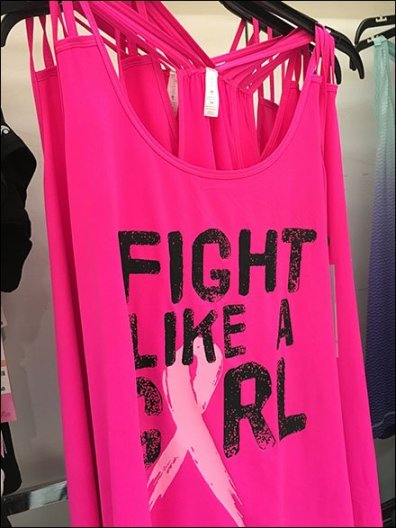 Fight Like A Girl T-Shirt Merchandising 3