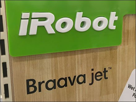 iRobot Braava Mopping Robot On Display