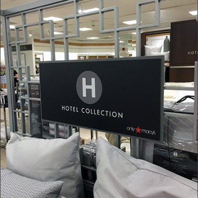 Macys Hotel Collection Branding Bedding 3