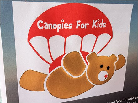 Pocono Skydivers Teddy Canopies For Kids 2