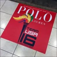 Polo Ralph Lauren US Olympic Team Floor Graphic Feature