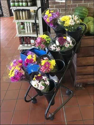 Wegmans Floral Quiver Cart 3