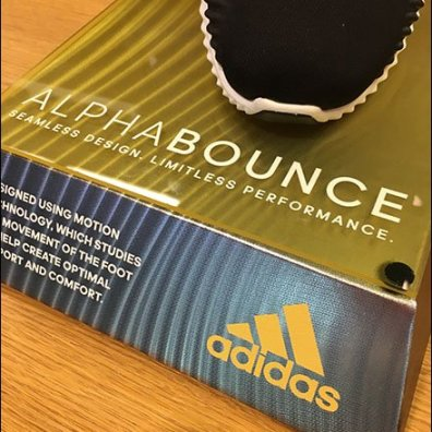 Adidas AlphaBounce Billboard and Pedestal Duo