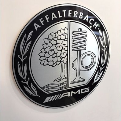 Affalterbach AMG Branding At Mercedes Benz Manhattan